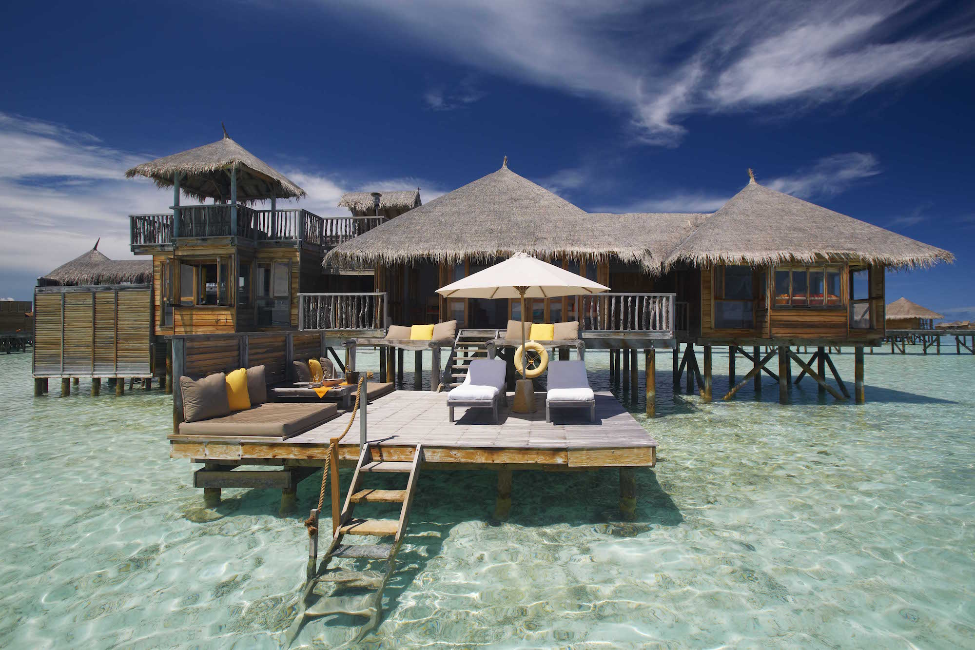 Gili Lankanfushi Resort Maldives The Private Residence - Deck over water