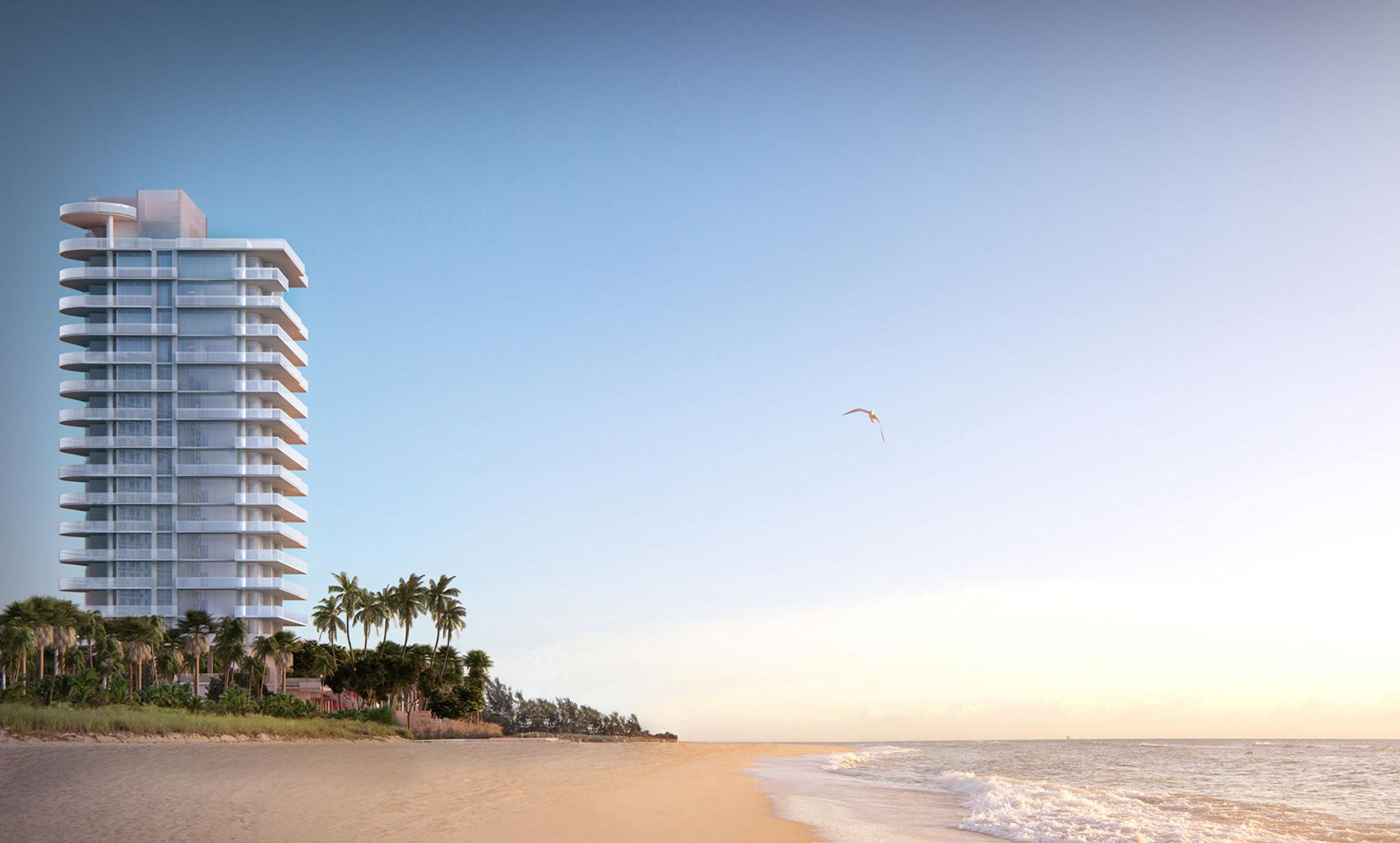 Penthouse at L'Atelier Residences, Miami Beach - Beach