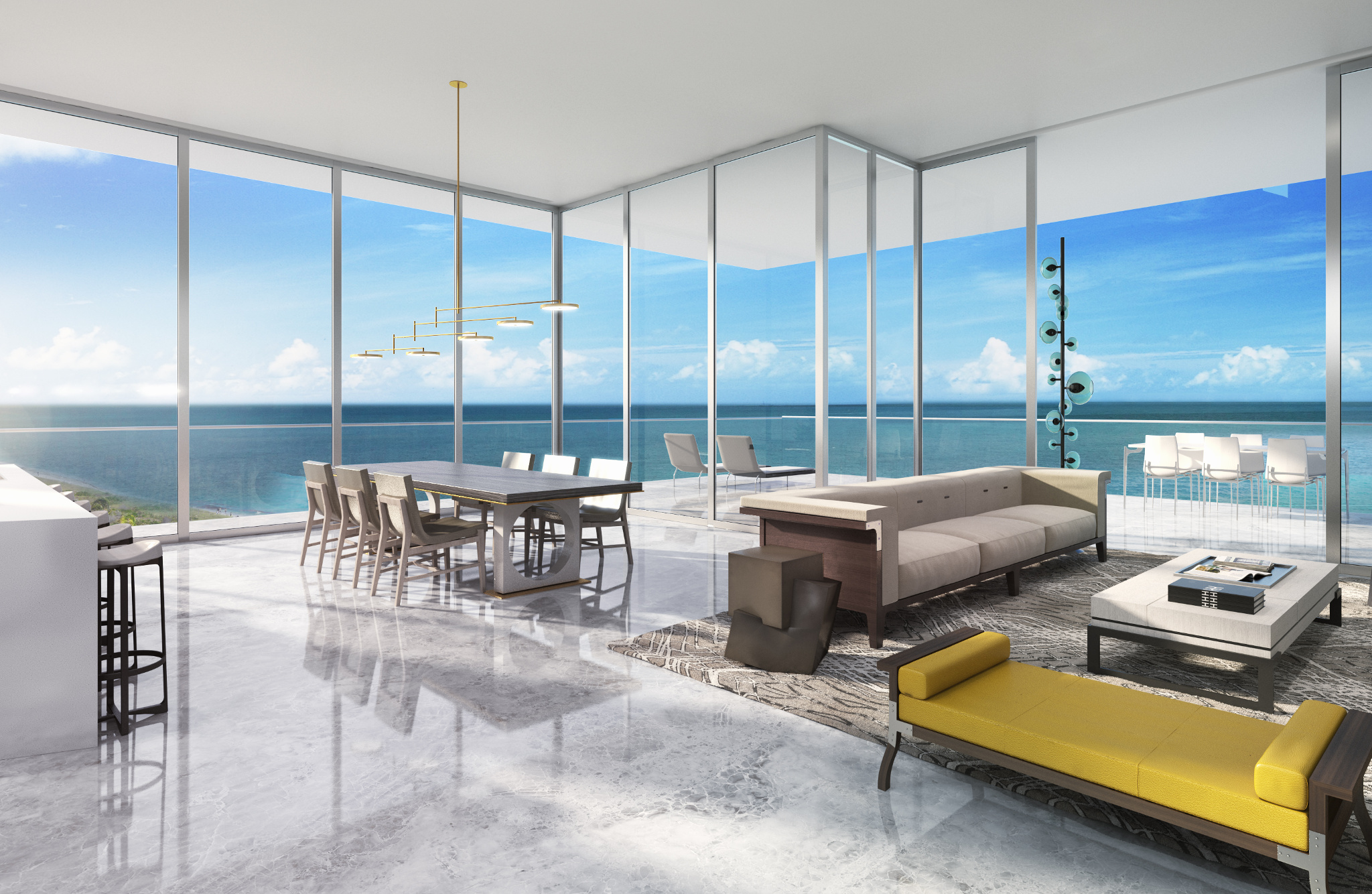 Penthouse At L Atelier Residences Miami Beach Most