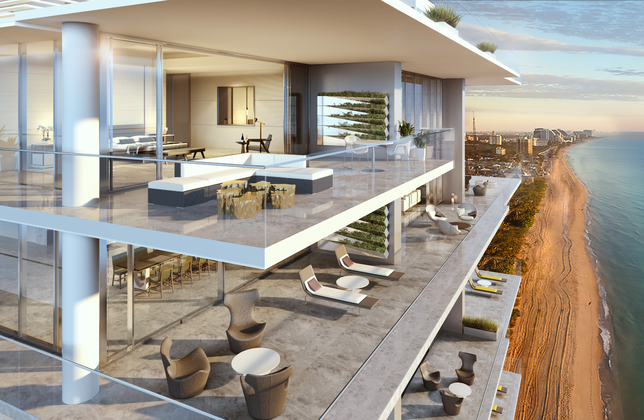 Penthouse at L'Atelier Residences, Miami Beach - Oceanfront
