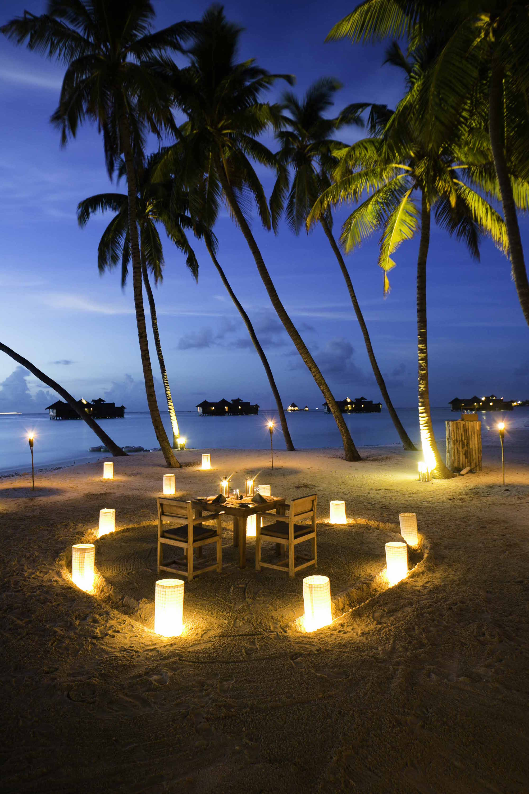 Gili Lankanfushi Resort Maldives Romance Under The Stars