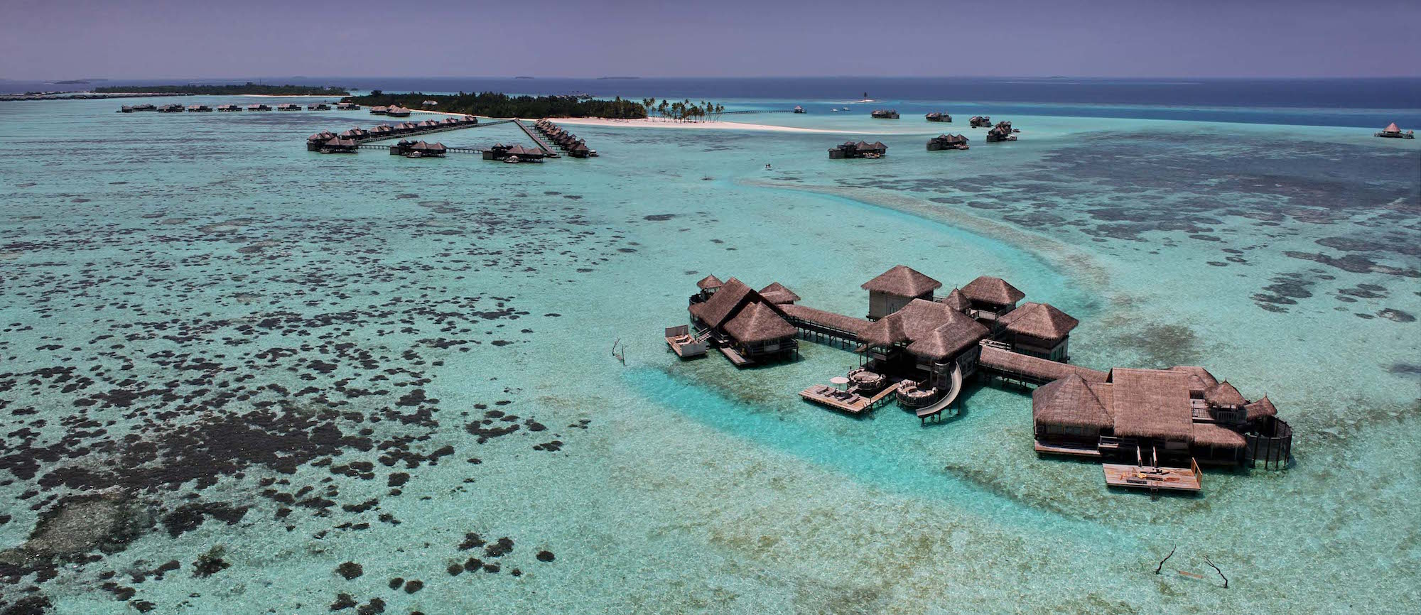 Gili Lankanfushi Resort Maldives The Private Residence Aerial View