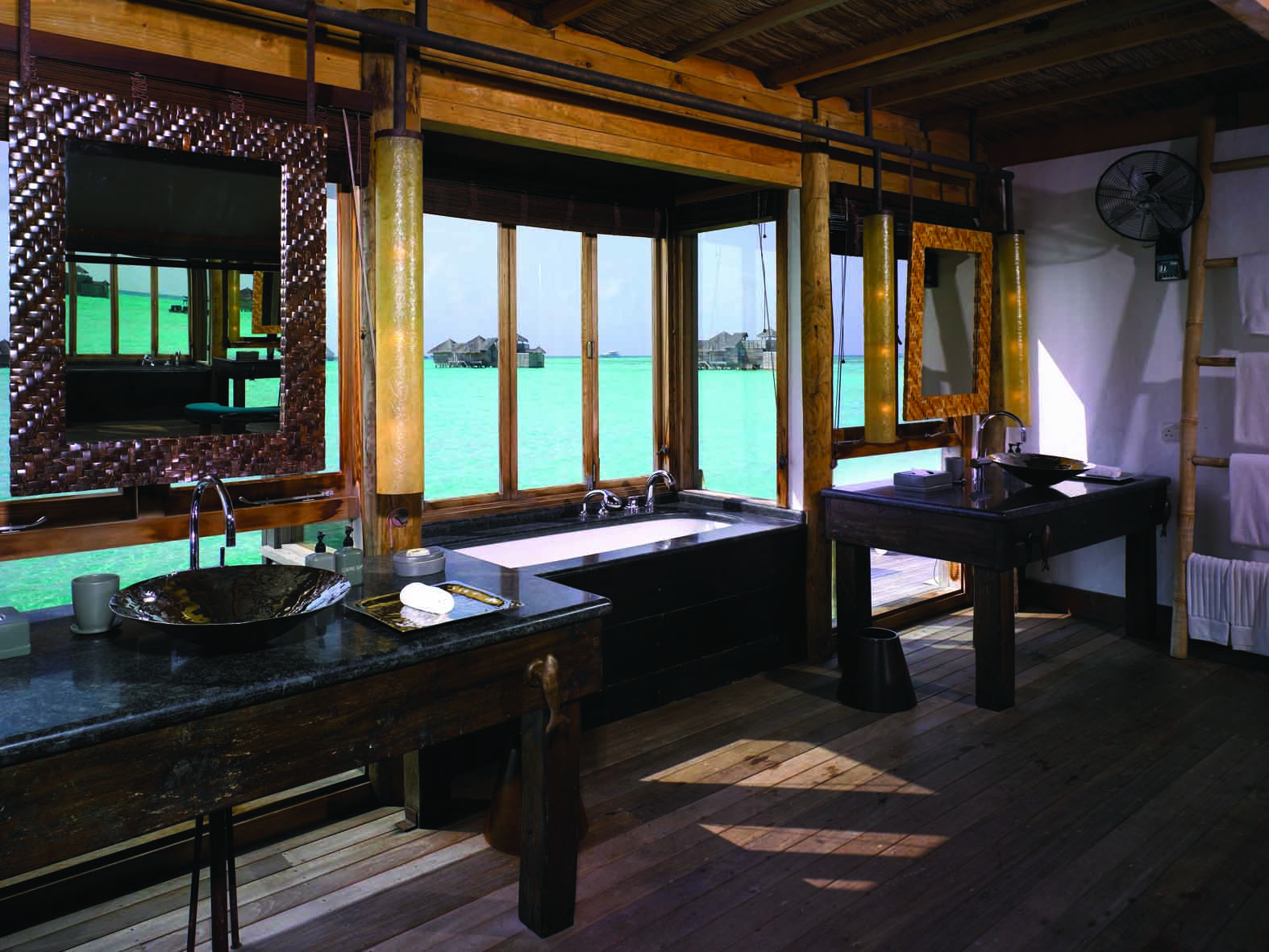 Gili Lankanfushi Resort Maldives Villa Suite Changing Room