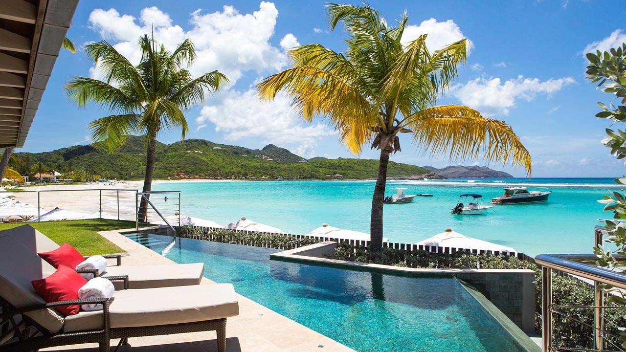 Eden Rock St Barths private pool