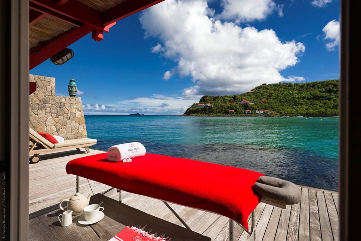 Eden Rock St Barths spa