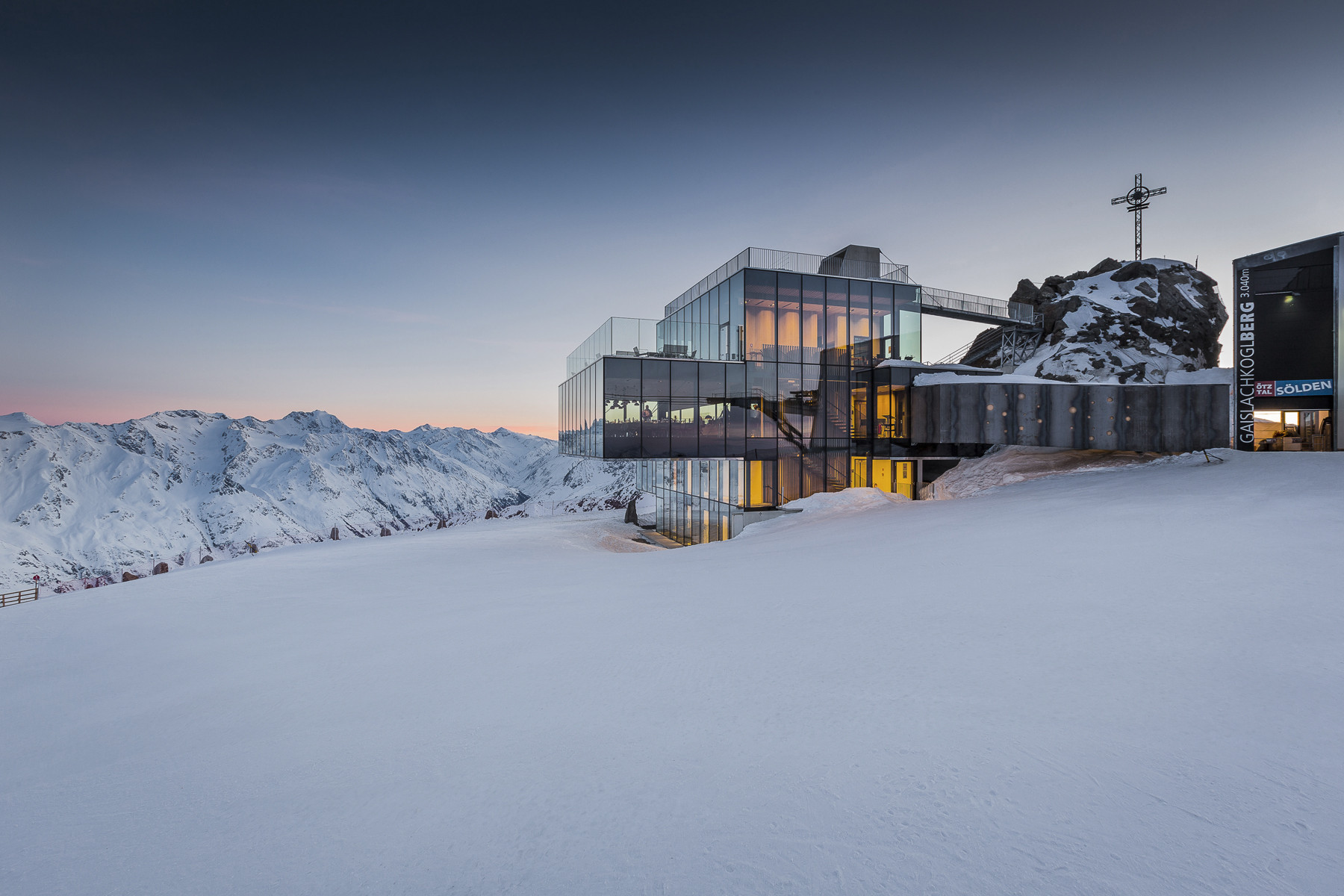 Austria - ice Q restaurant