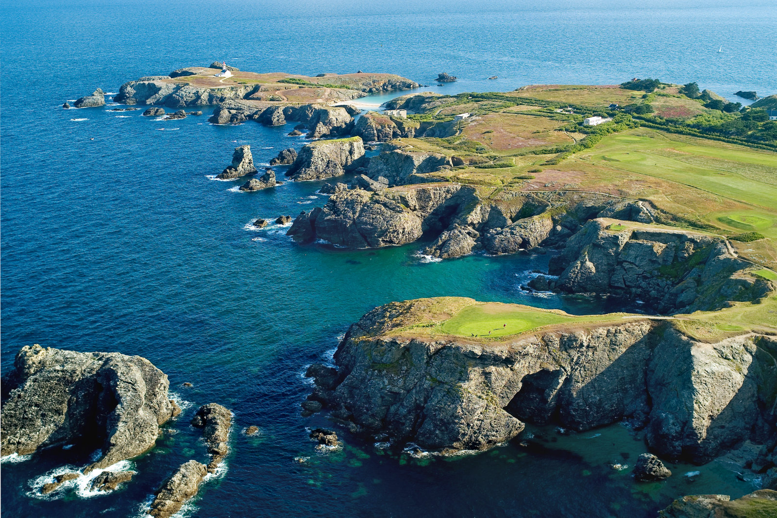 Belle Ile golf course, France