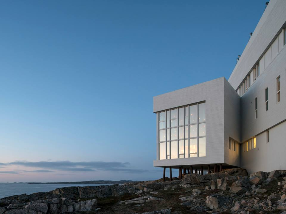 Fogo Island Inn architecture detail