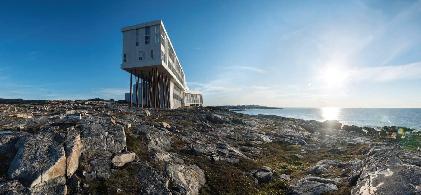 Fogo Island Inn architecture