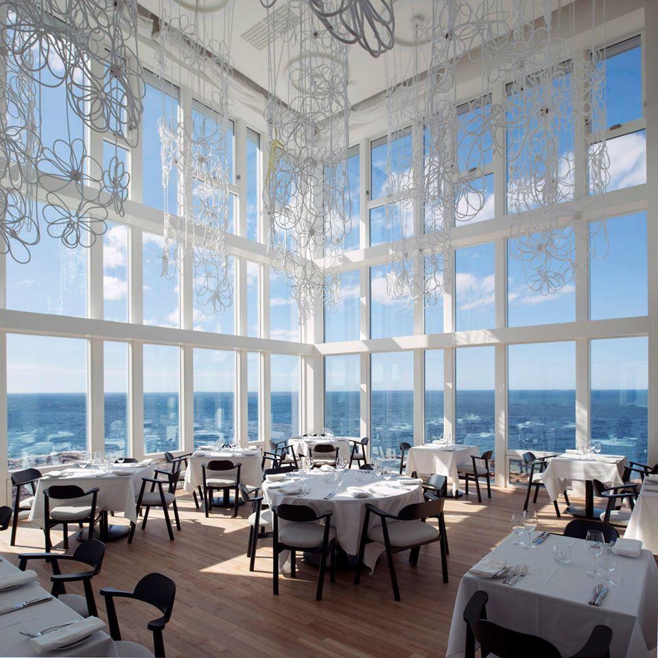 Fogo Island Inn dining room