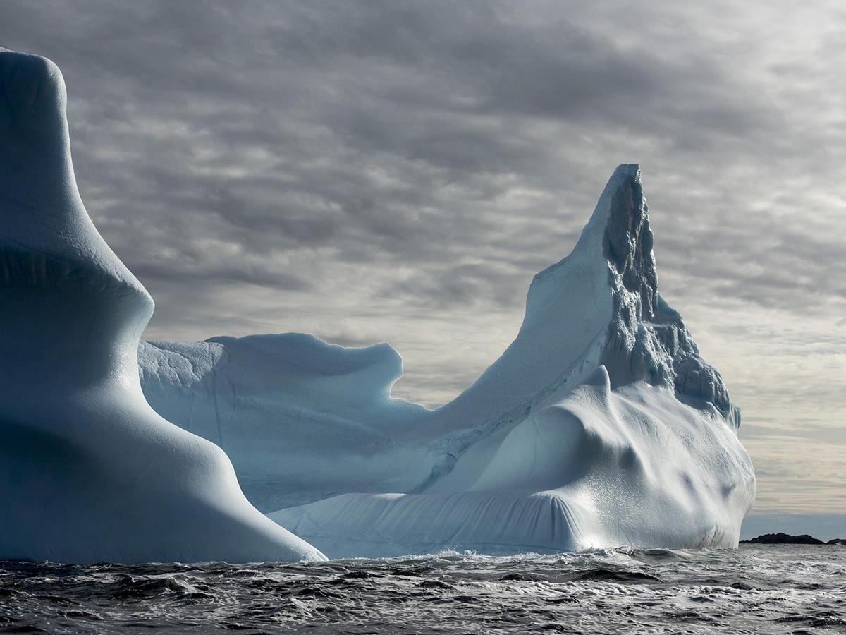 Fogo Island Inn iceberg