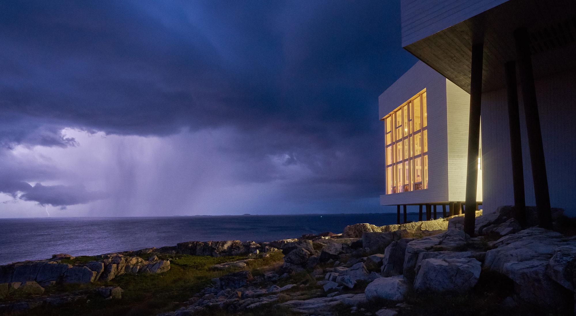 Fogo Island Inn oceanfront