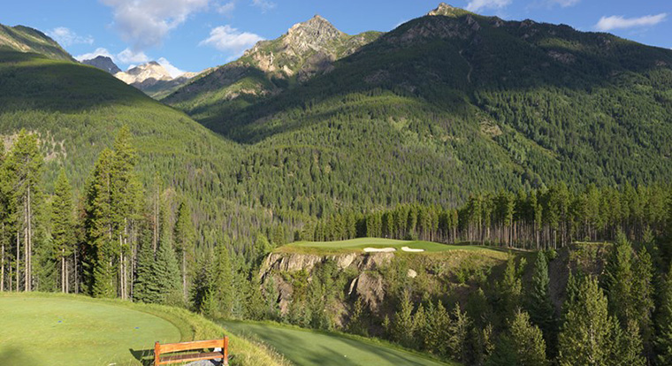 Greywolf golf course Cliffhanger