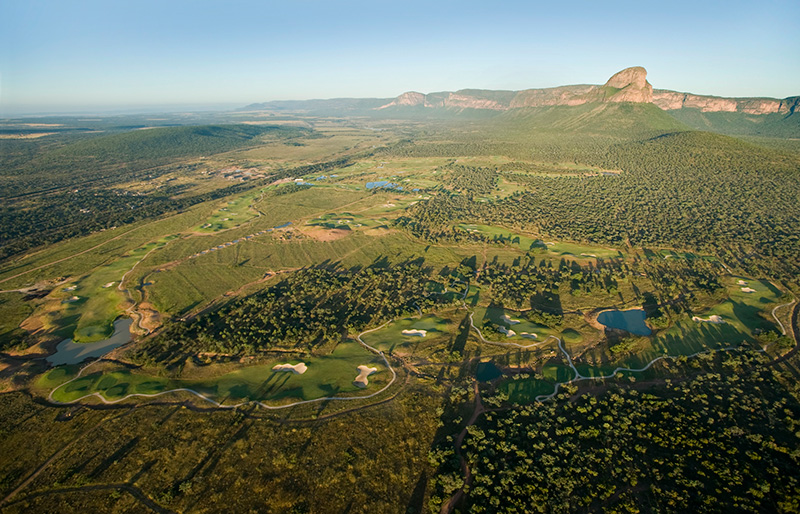 Legend Signature golf course - aerial view