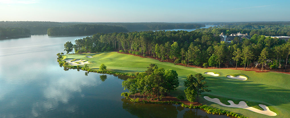 Lake Oconee golf course, GA, USA