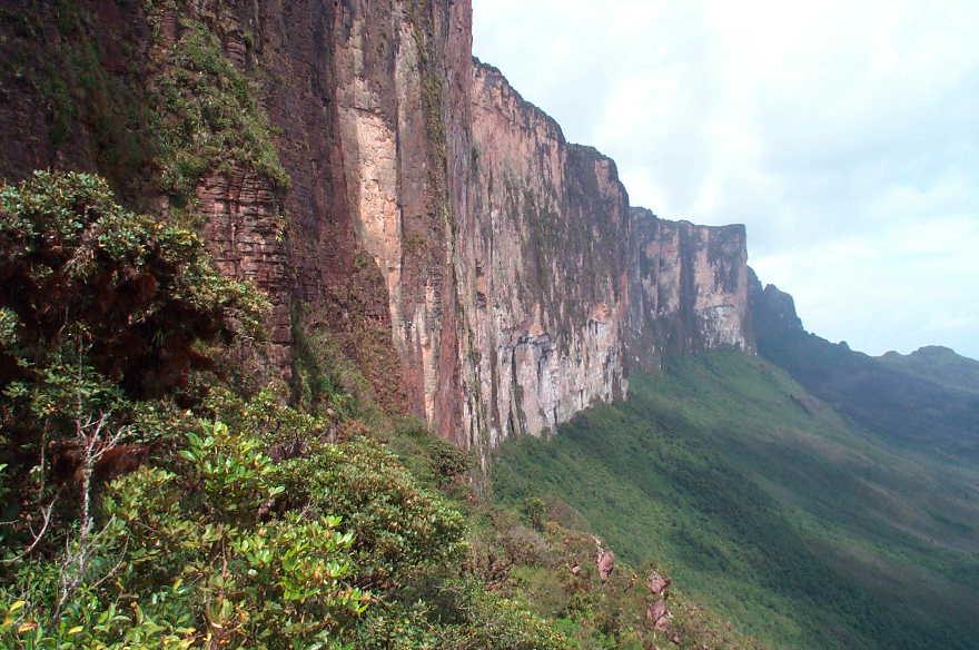 Mount Roraima, Venezuela cliffs