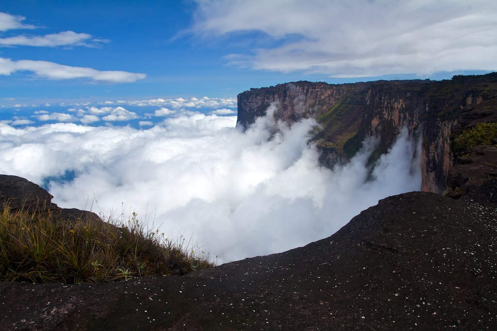 Mount Roraima, Venezuela cliffs