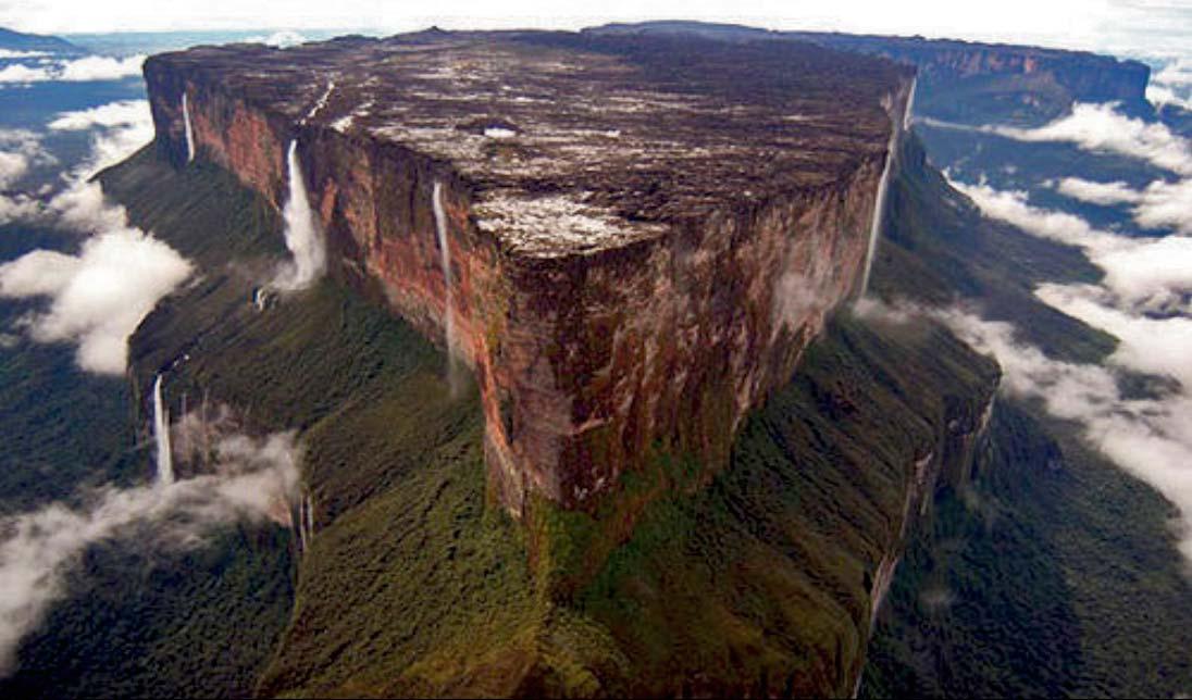 Mount Roraima north cliff, Venezuela