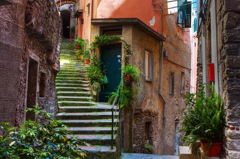 Vernazza street detail