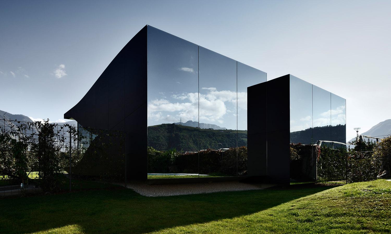 Mirror Houses walls