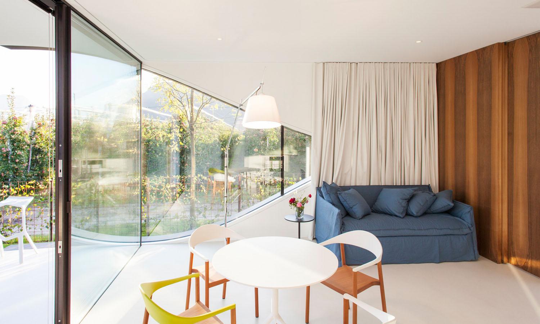 Mirror Houses living room