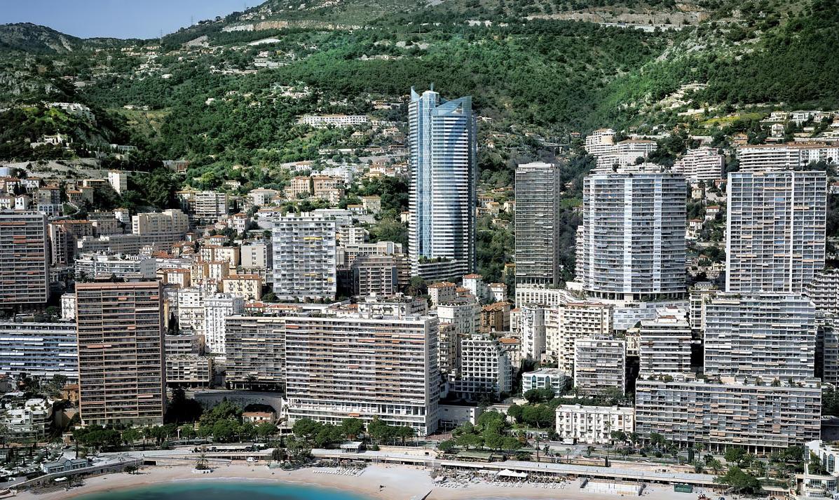 Tour Odéon general view, Monaco