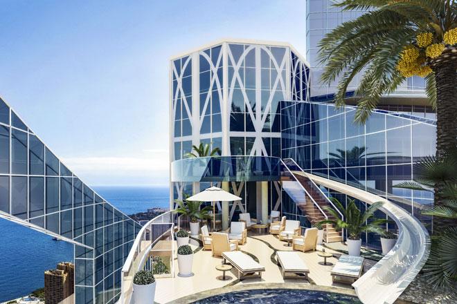 Tour Odéon penthouse terrace, Monaco