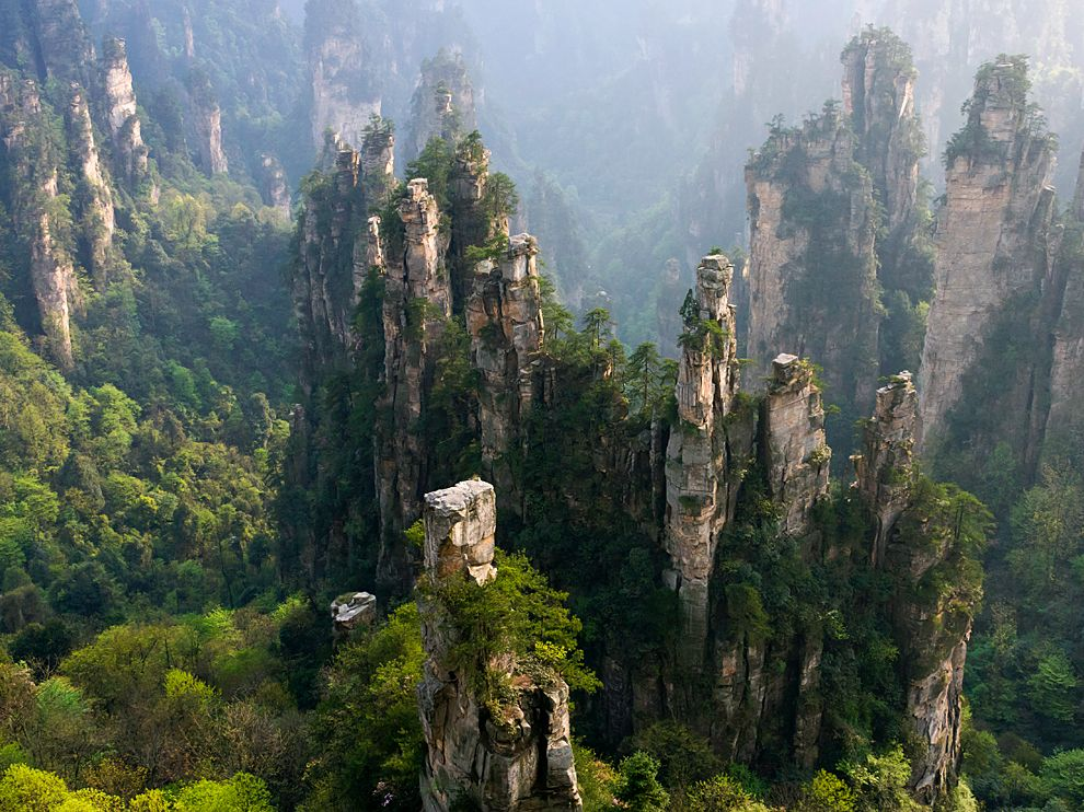Assez Zhangjiajie National Forest Park, China - Most Beautiful Spots IA92