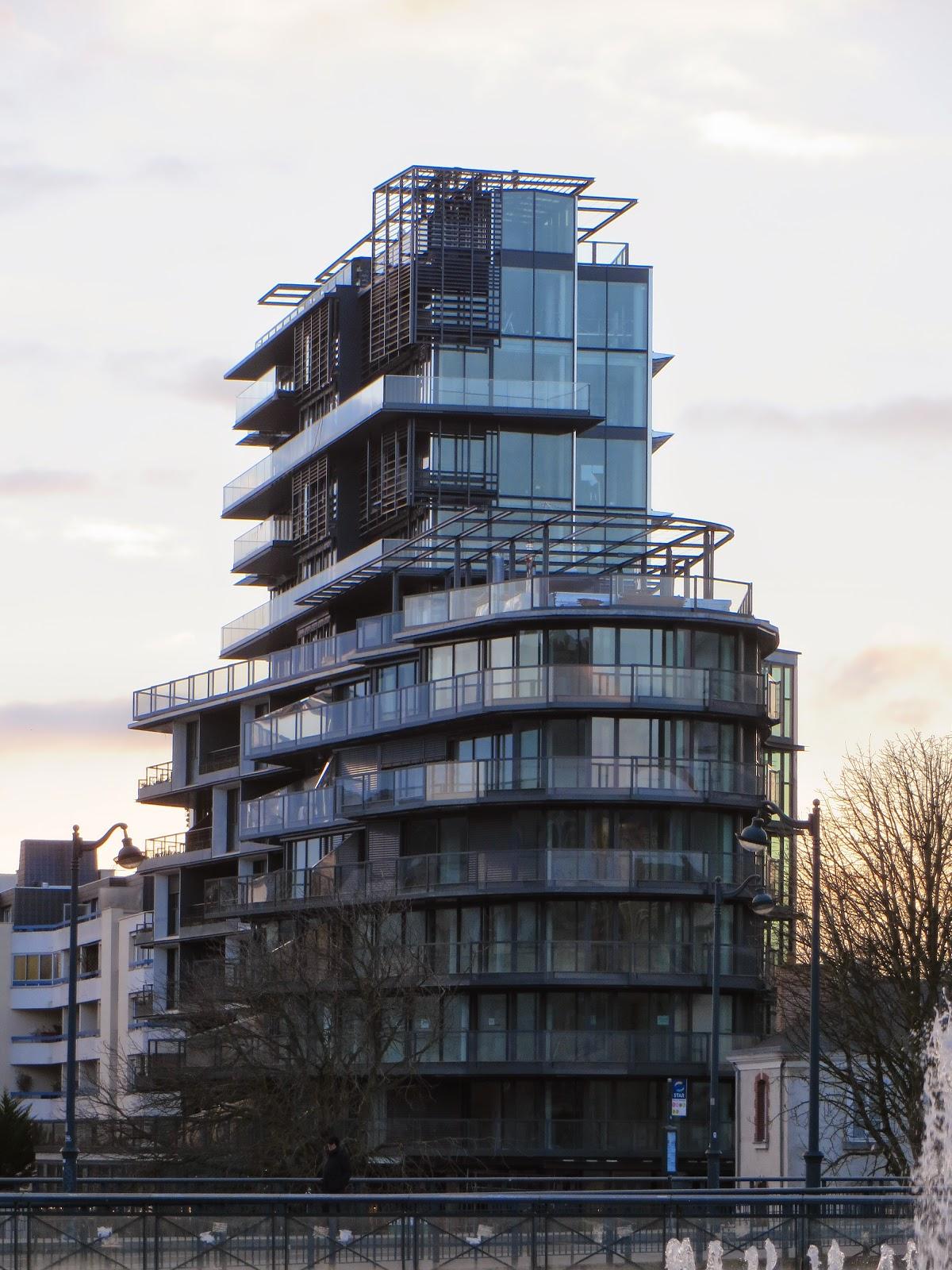 Cap Mail, Rennes - architecture