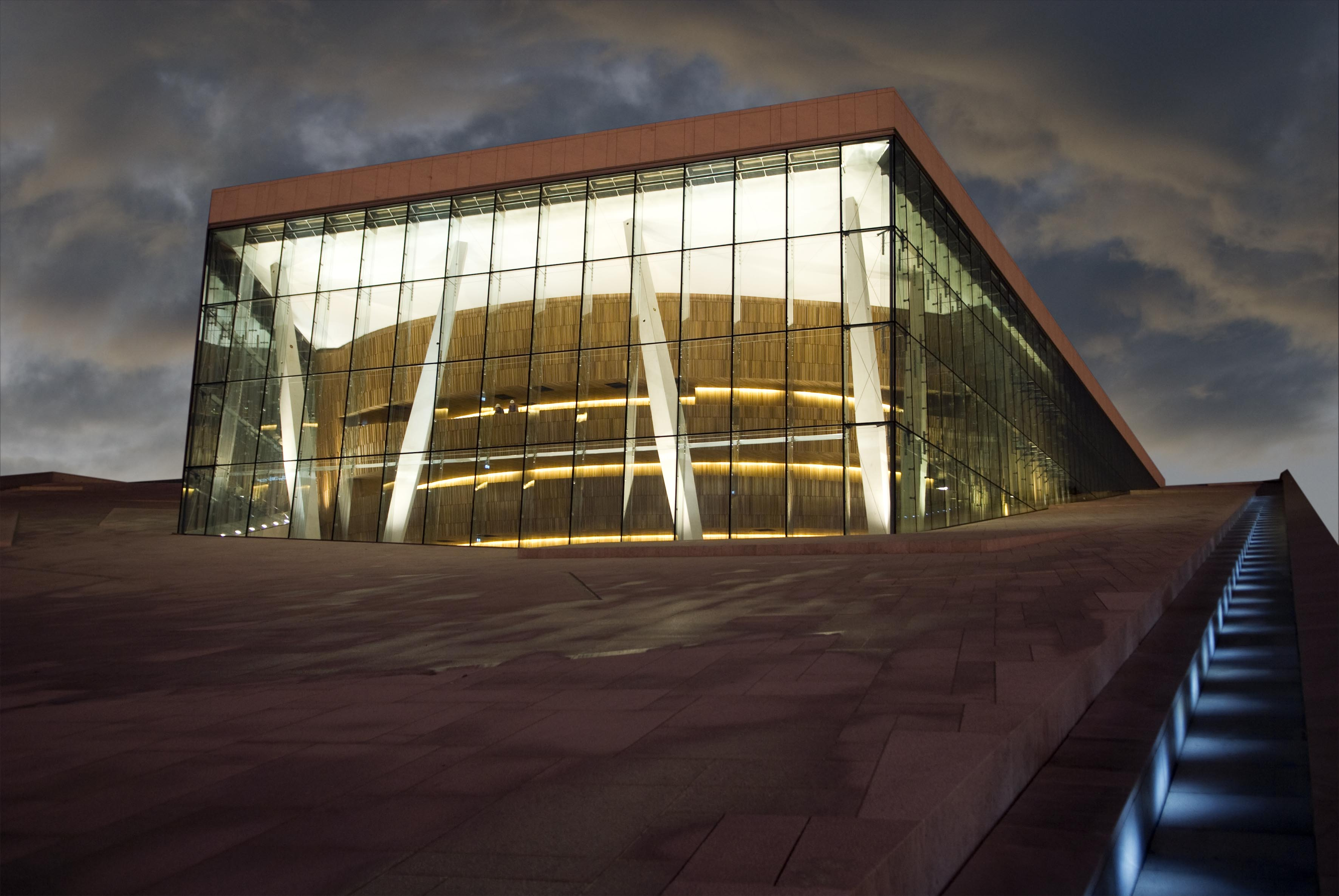 Oslo Opera House by night - Erik Berg