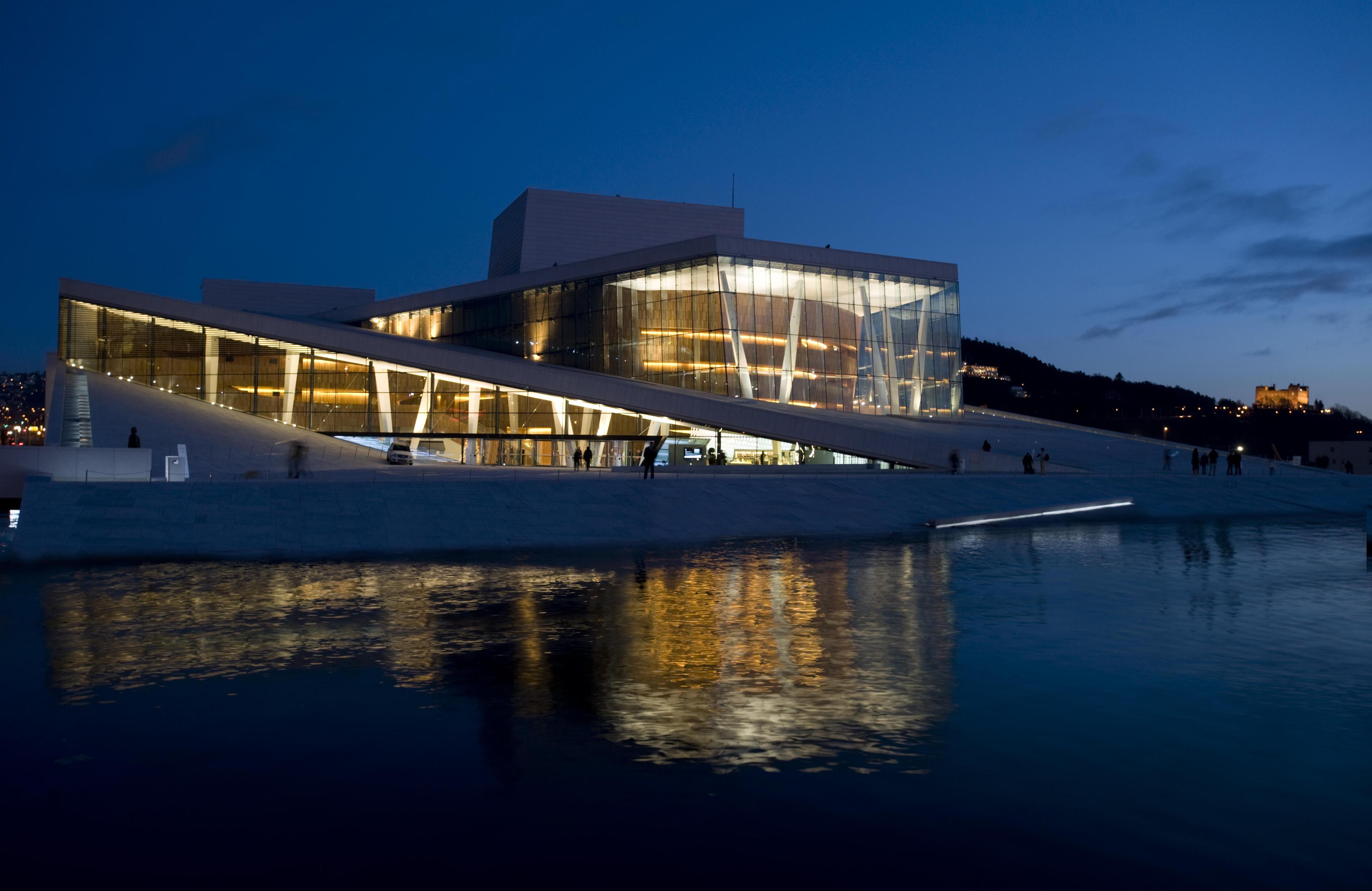 Oslo Opera House by night - Erik Berg