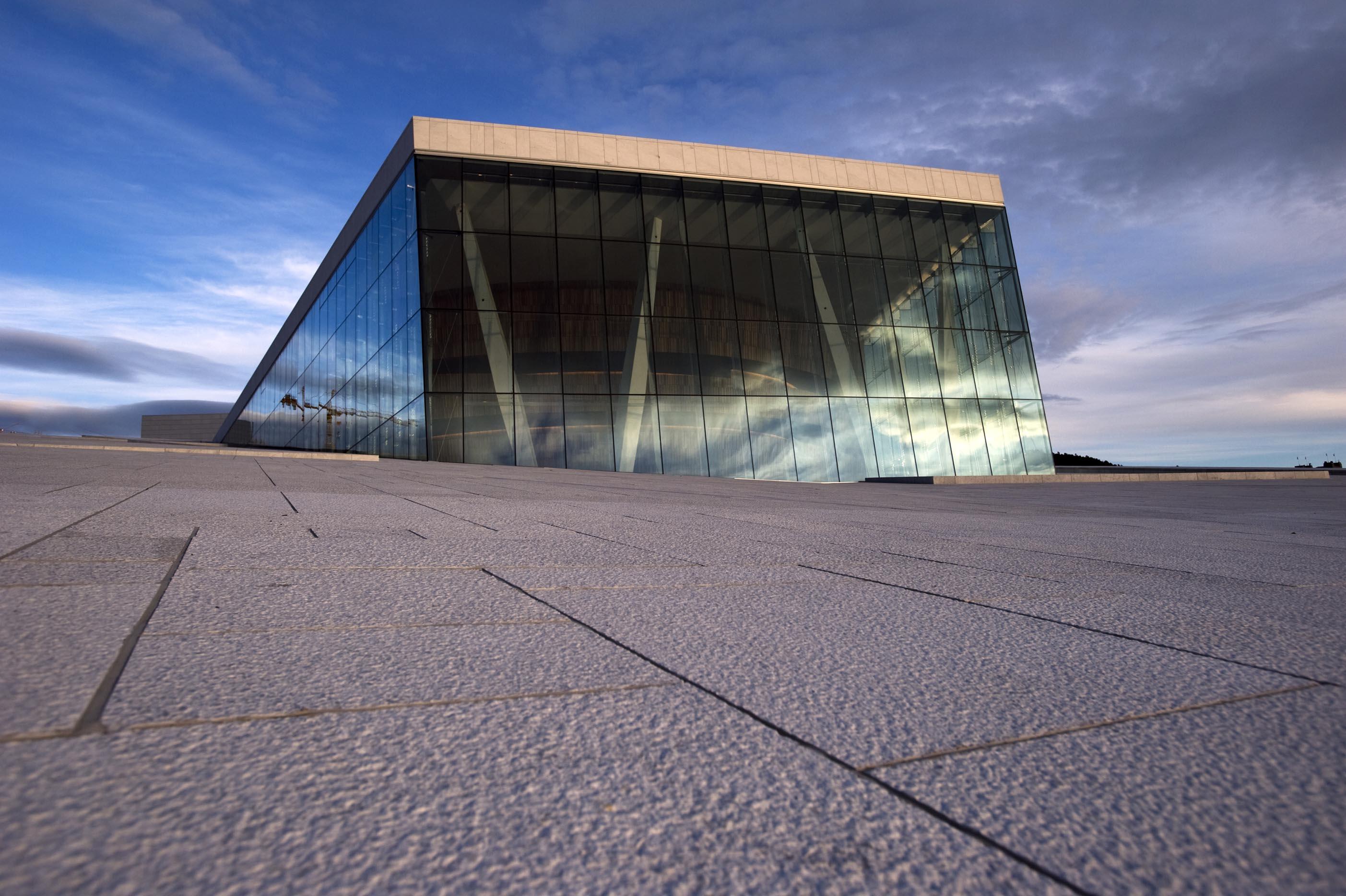 Oslo Opera House facade - Erik Berg