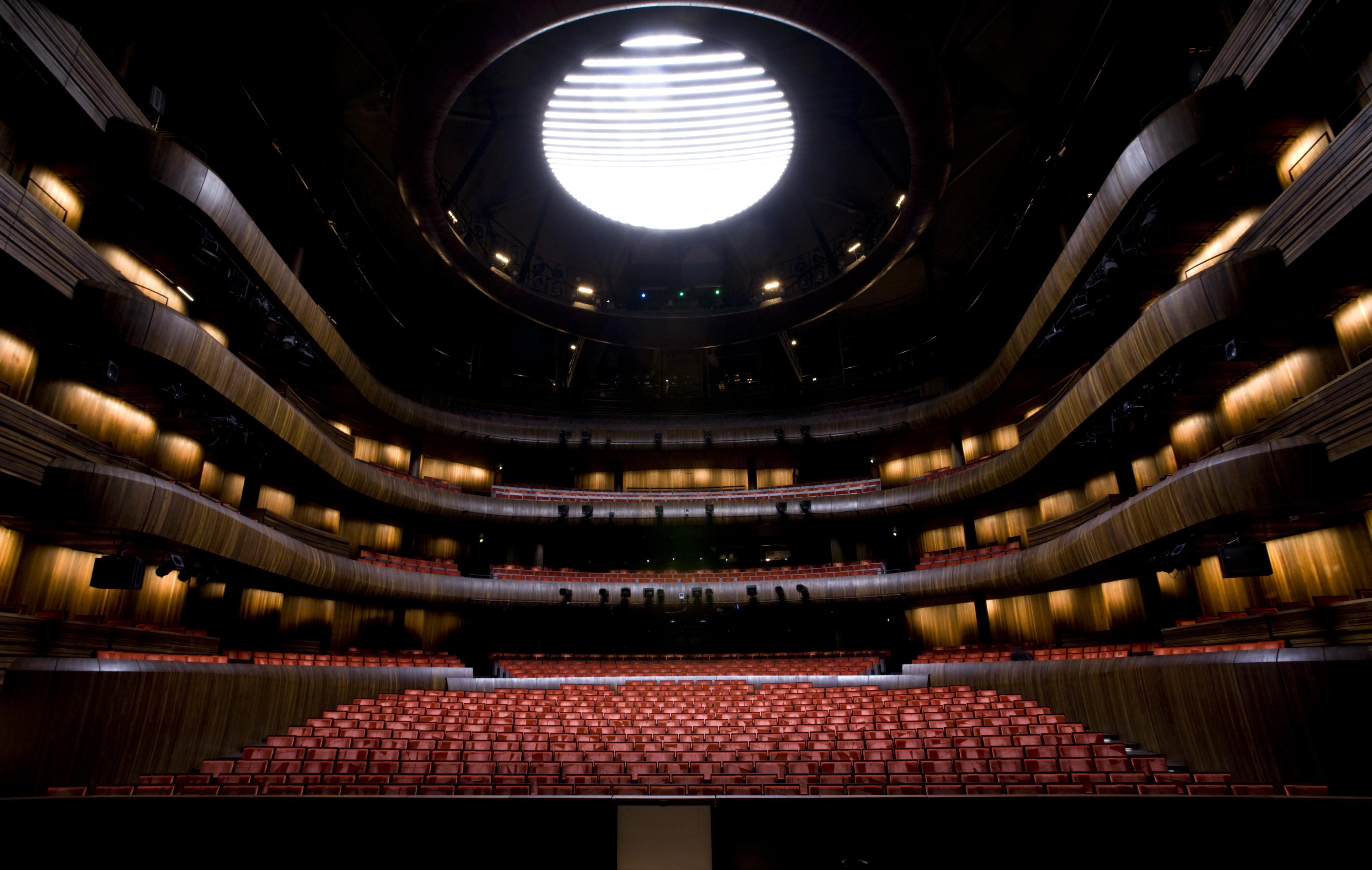 Oslo Opera House main stage. Photo: Erik Berg.