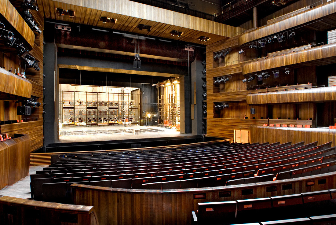 Oslo Opera House main stage scene - Erik berg