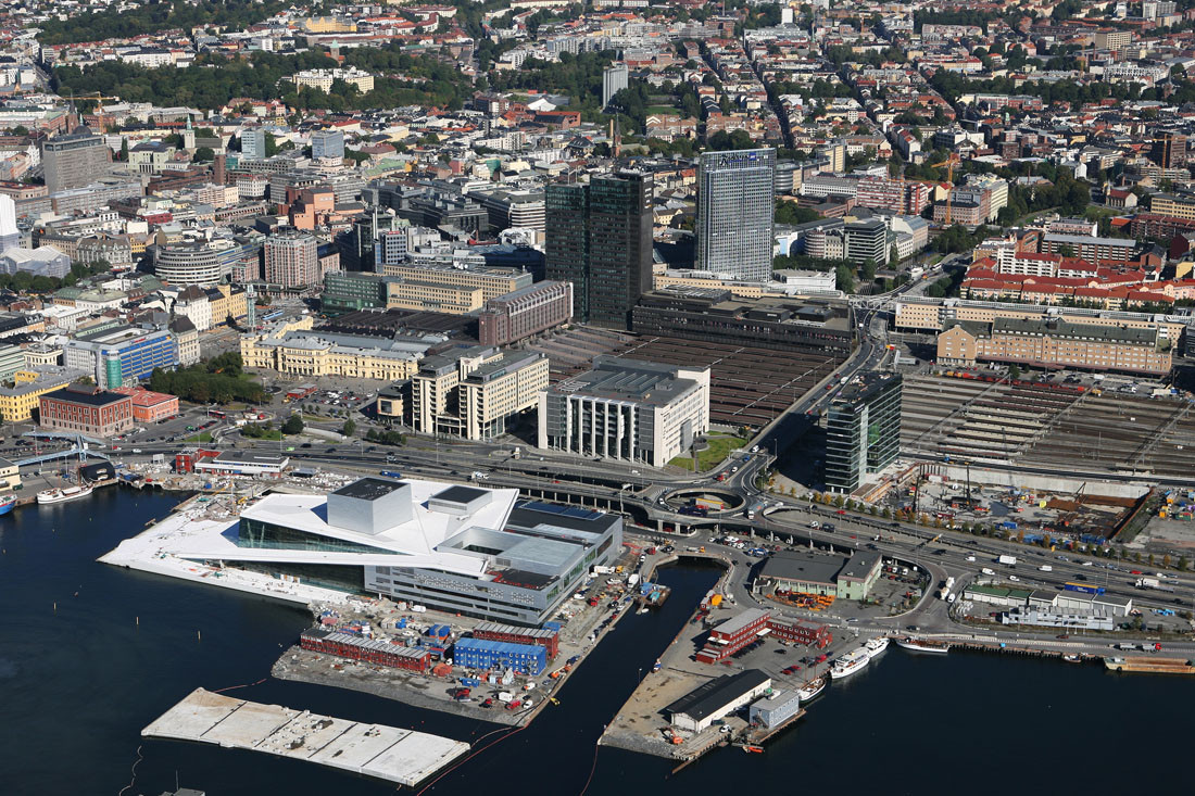 Oslo Opera House situation - Snohetta