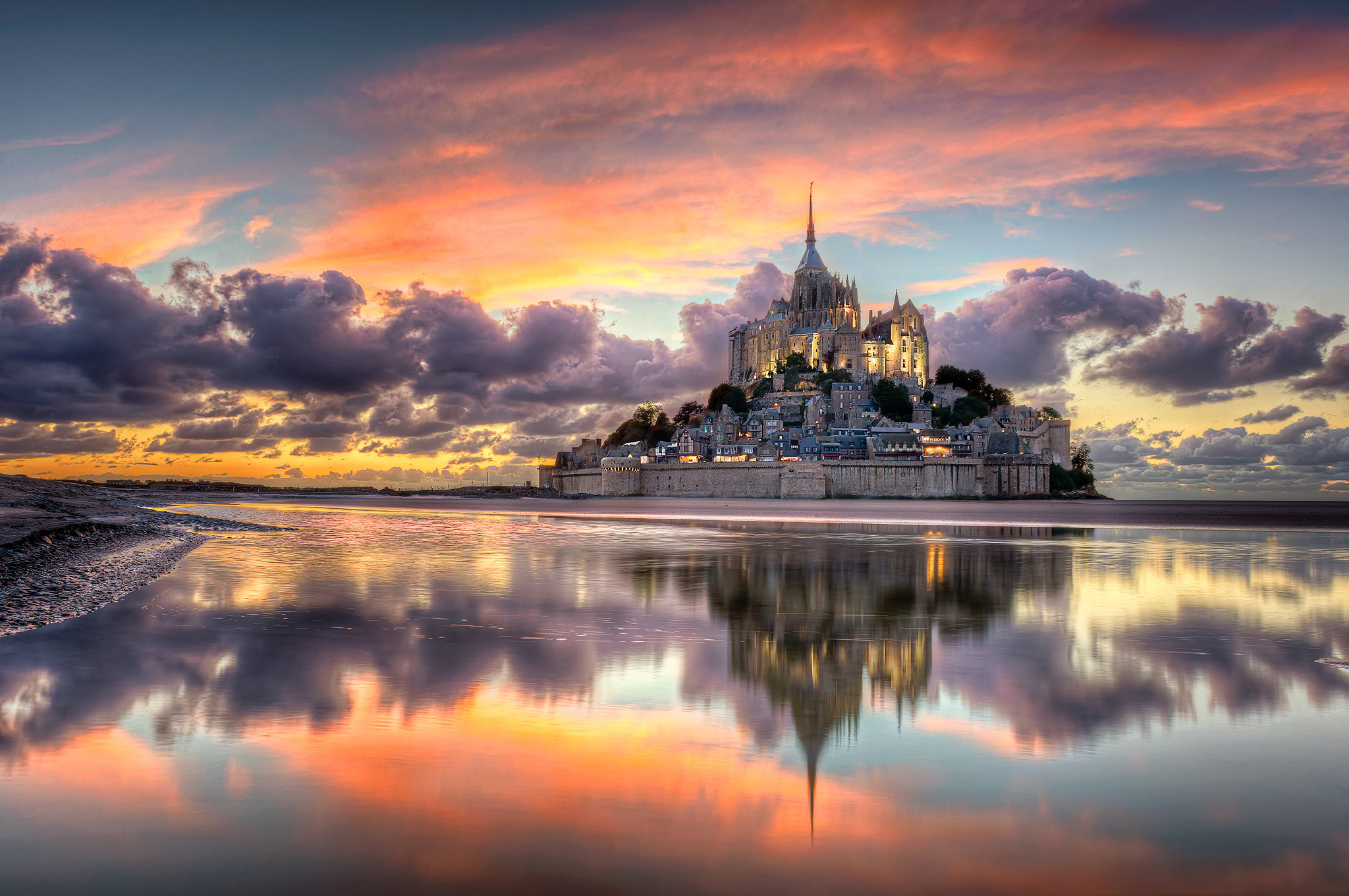 Mont Saint-Michel - UNESCO World Heritage Site