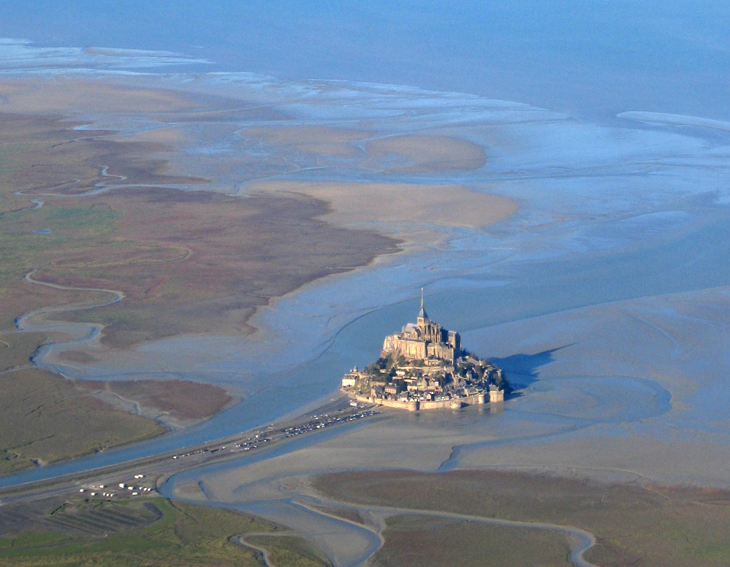 Mont Saint-Michel and his bay