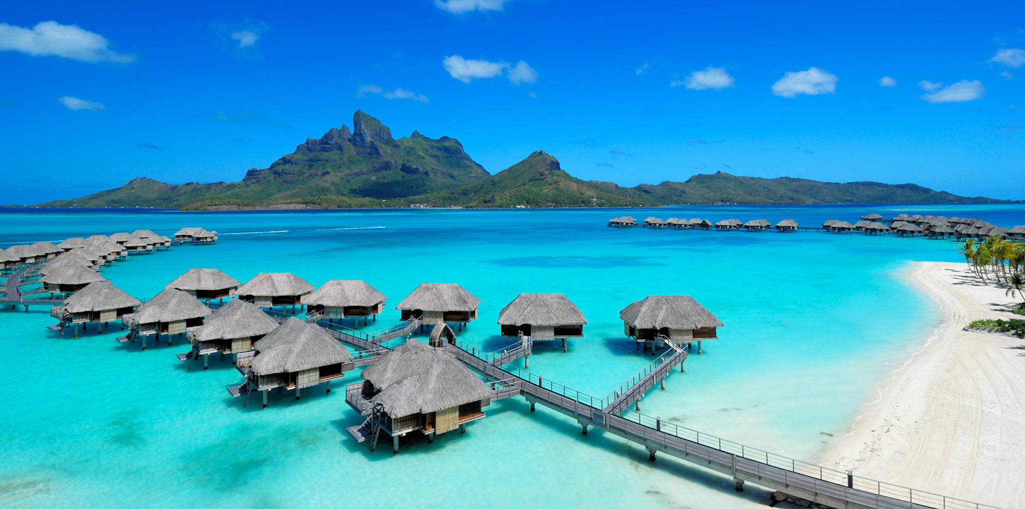 Four Seasons, Bora Bora, French Polynesia