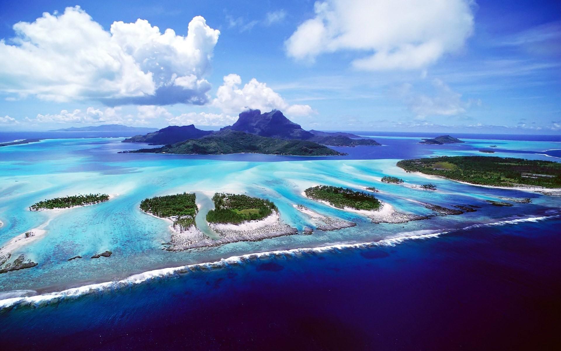 Lagoon, Bora Bora, French Polynesia