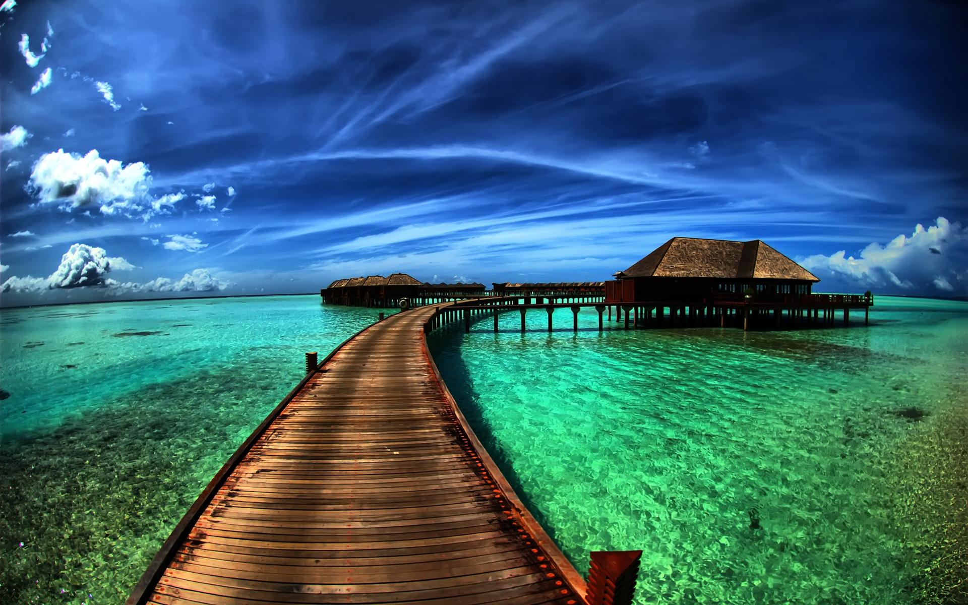 Overwater bungalow, Bora Bora, French Polynesia