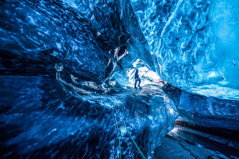 Ice Cave, Vatnajökull, Iceland