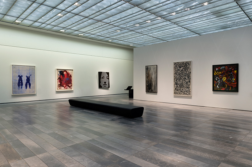 Louvre Abu Dhabi exhibition room