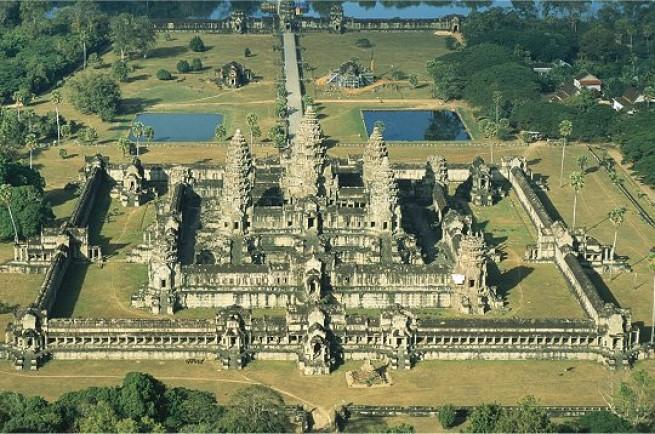 Angkor Wat landscape, Cambodia