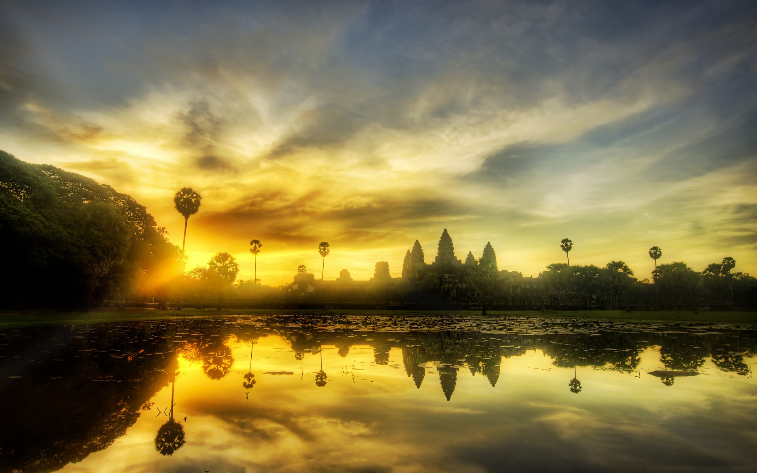 Angkor Wat sunset, Cambodia