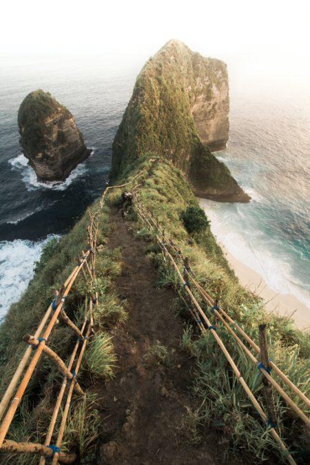 Kelingking Beach stairs